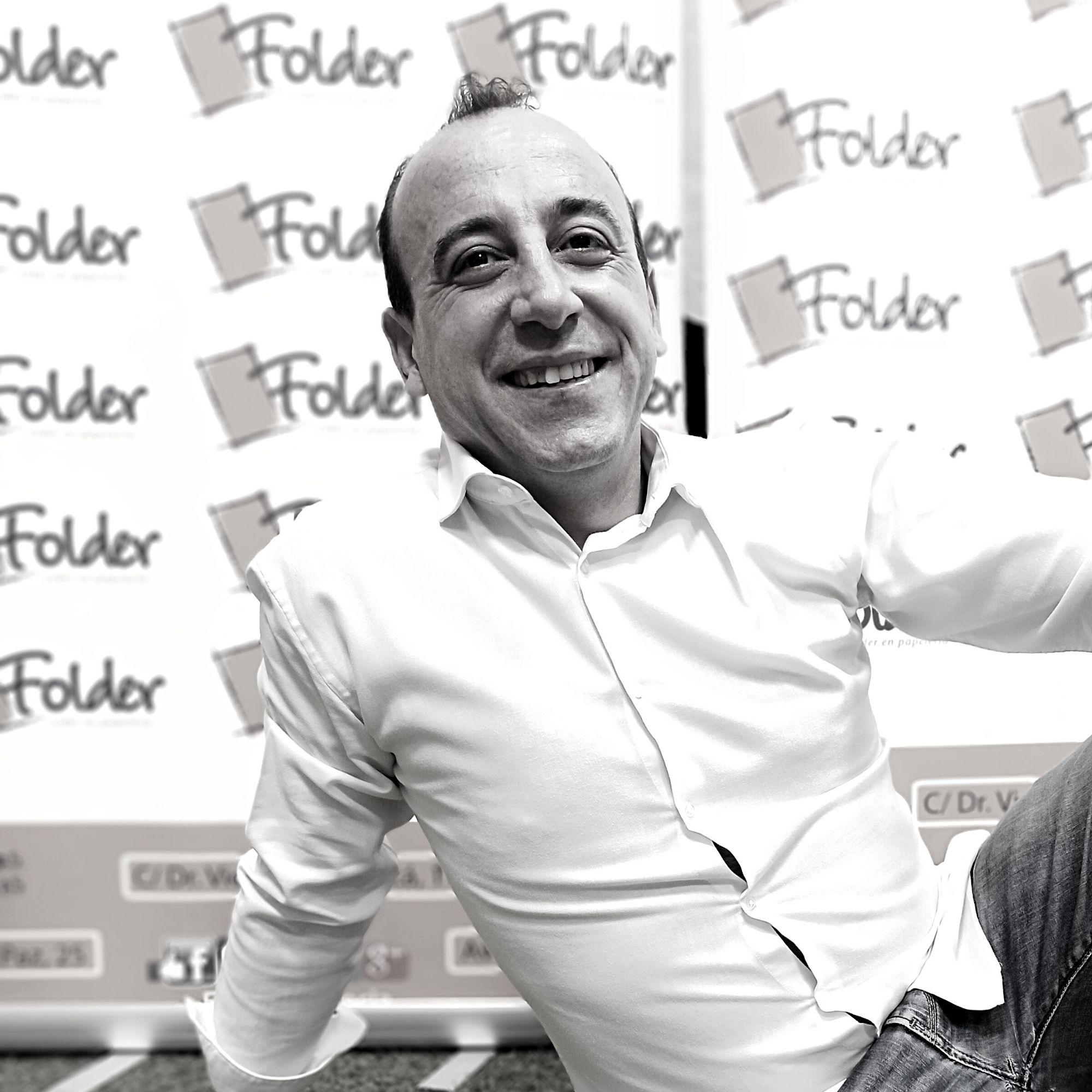 Javier Andreu departamento comercial Folder Valencia