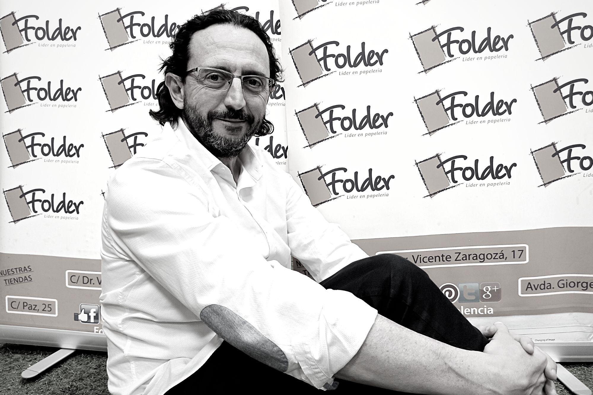 Luis Prosper departamento comercial Folder Valencia