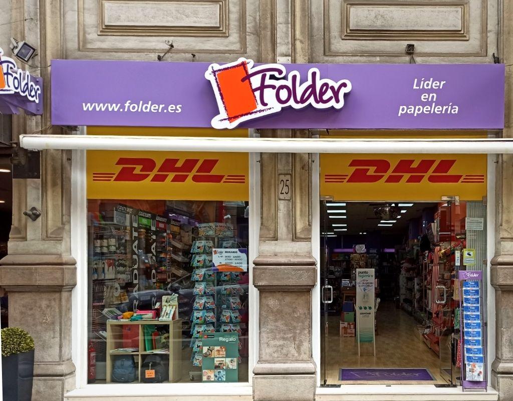 Folder Valencia calle la Paz